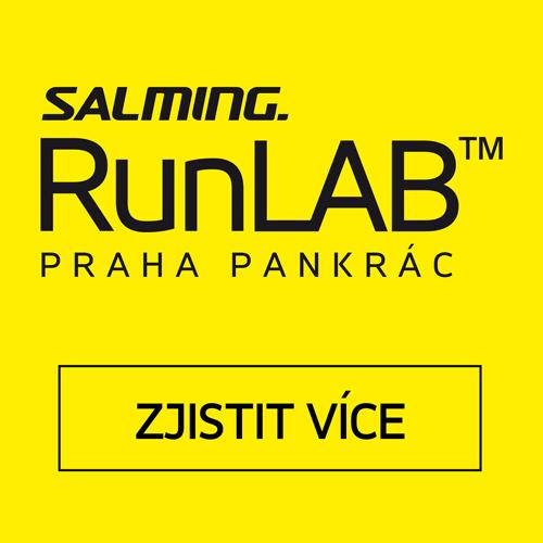 Běžecká analýza Salming RunLab